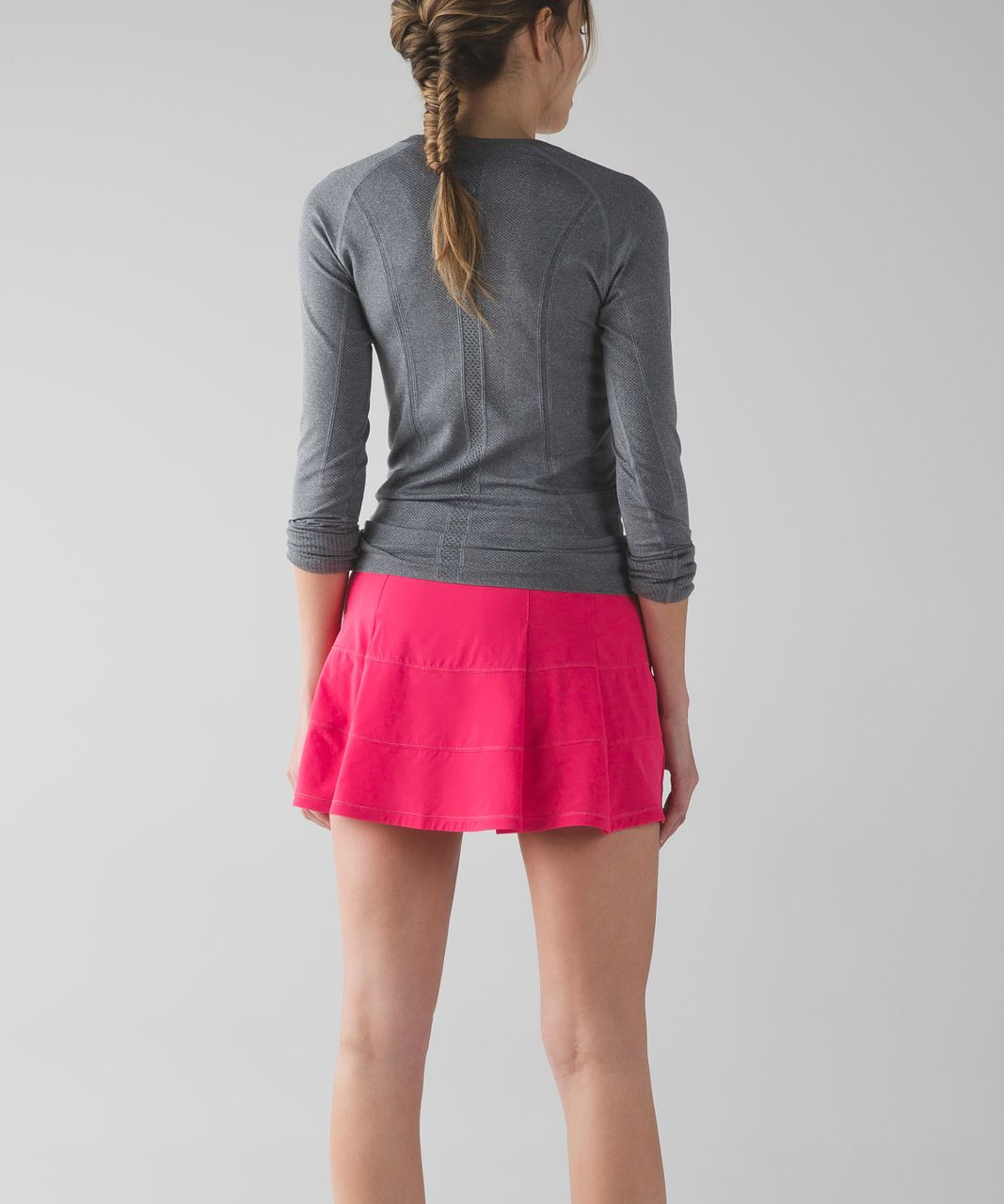 Lululemon Pace Rival Skirt II (Tall) (2-way Stretch ) - Boom Juice