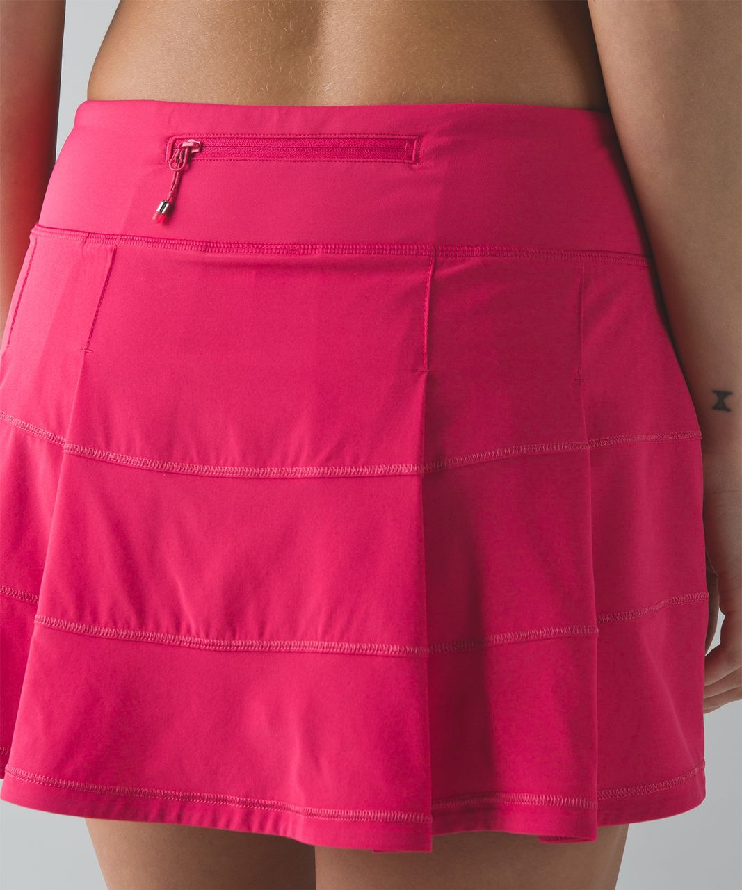 Lululemon Pace Rival Skirt II (Regular) (4-way Stretch ) - Boom Juice