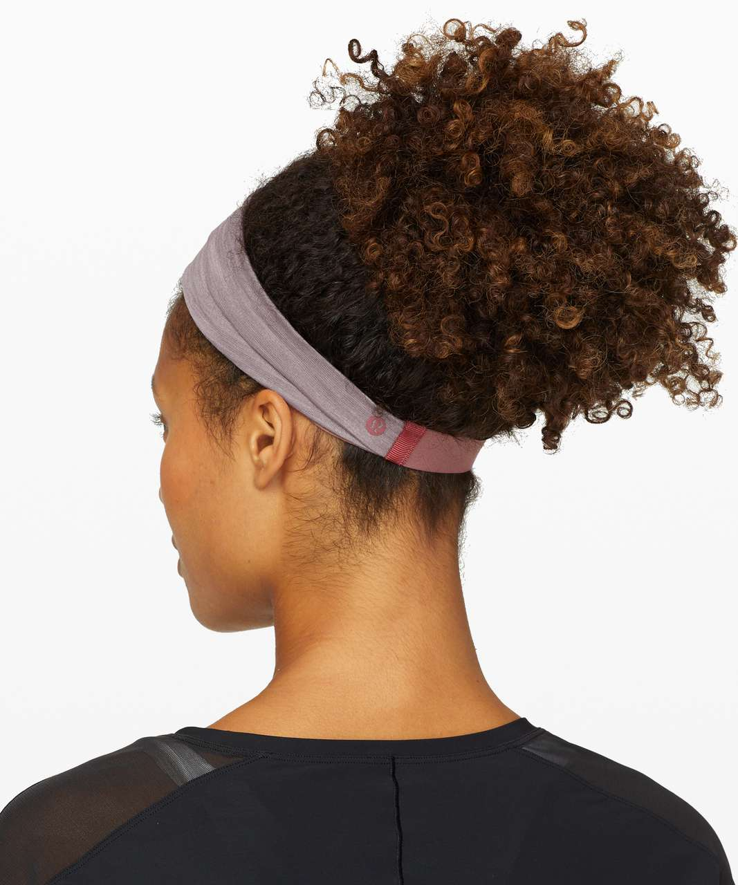 Lululemon Fringe Fighter Headband - Diamond Dye Pink Bliss Spanish Oak / Heathered Smoky Blush