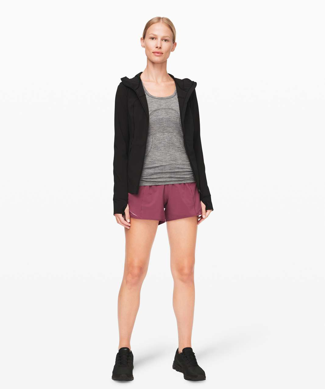 "Lululemon Hotty Hot Short *High-Rise Long 4"" - Plumful"