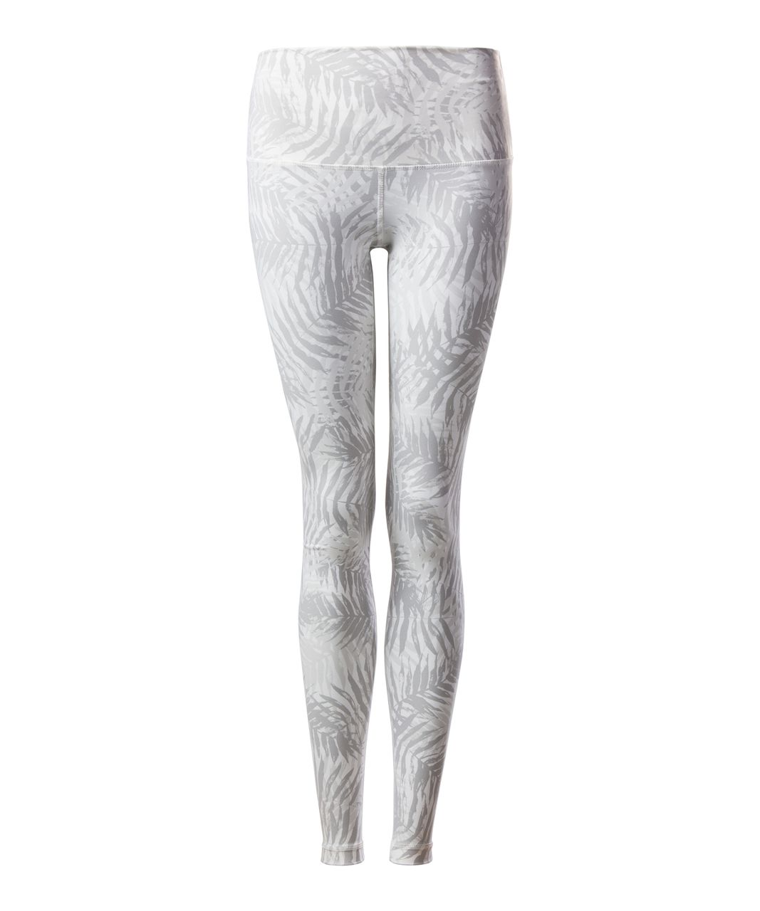 Lululemon Wunder Under Pant (Hi-Rise) (Full-On Luxtreme) - Palm Camo White Nimbus