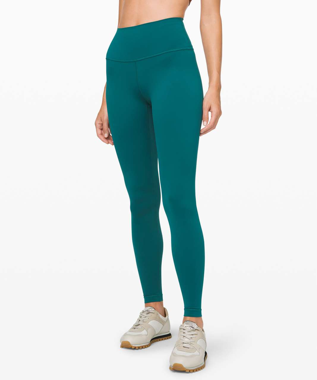 "Lululemon Wunder Under High-Rise Tight 28"" *Nulux - Emerald"