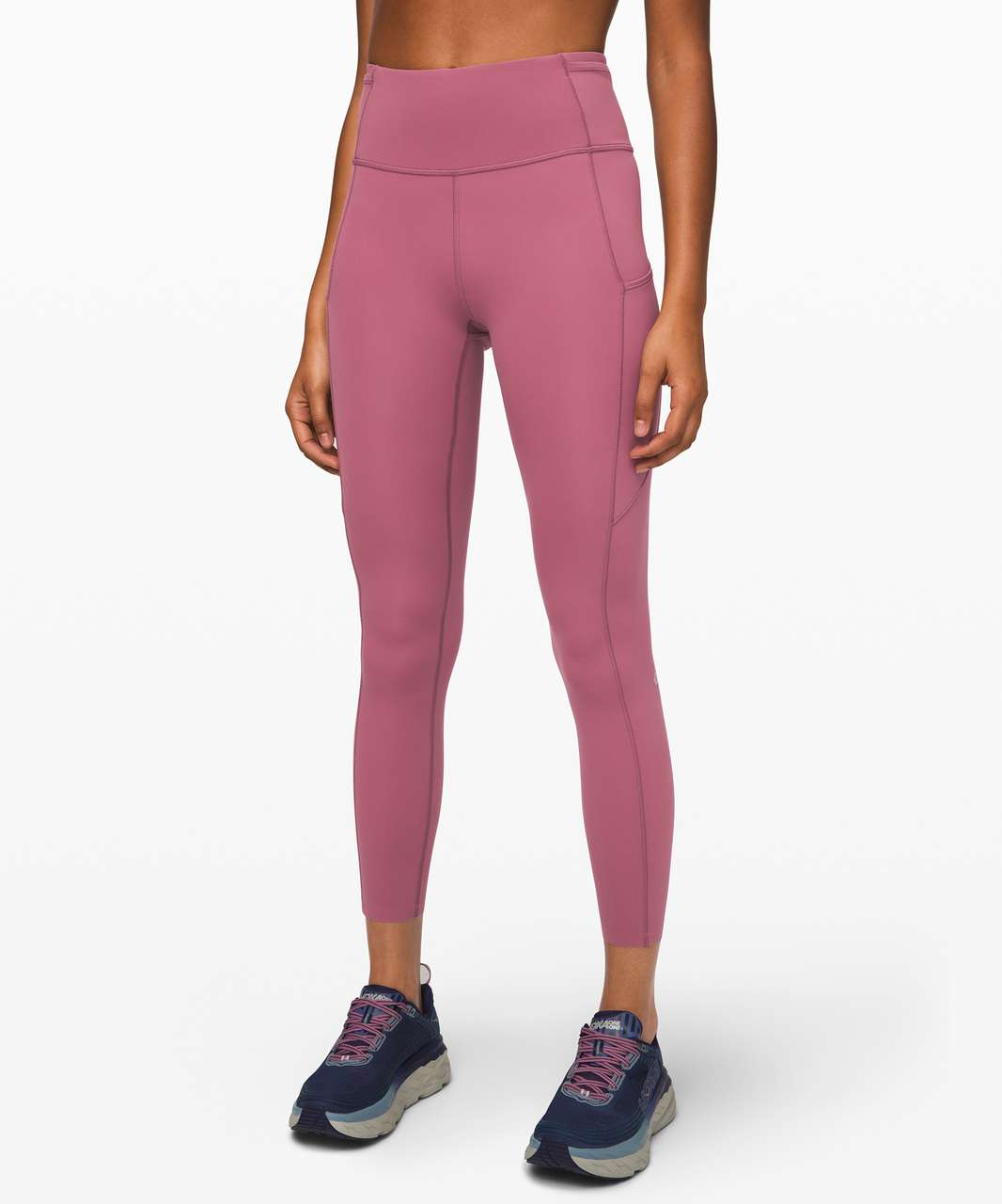 """Lululemon Fast and Free Tight II 25"""" *Non-Reflective Nulux - Plumful"""