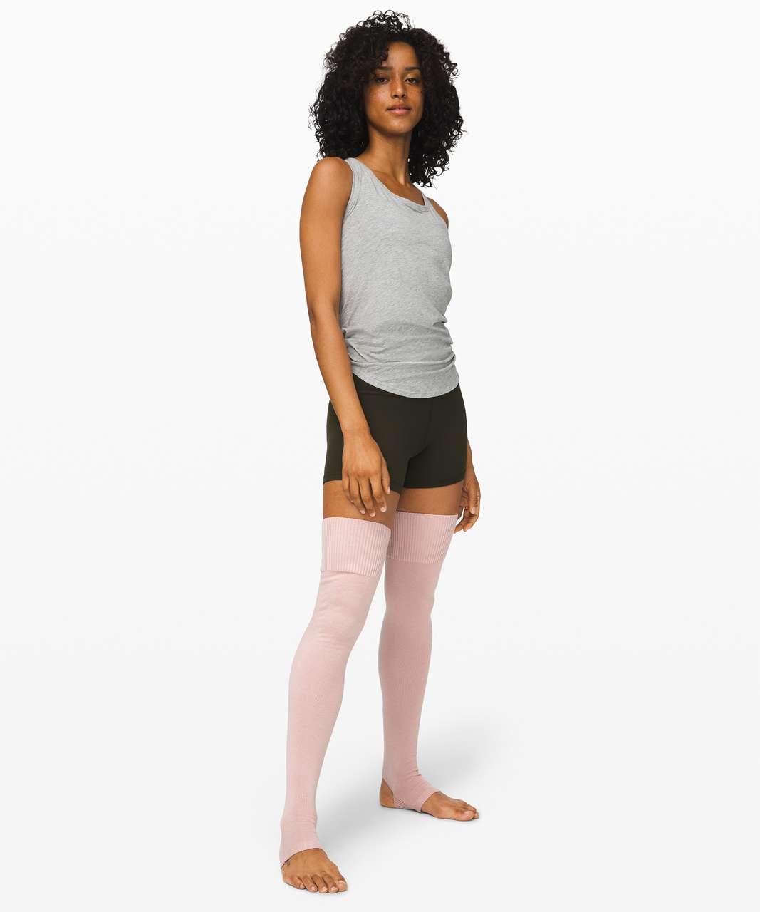 Lululemon Evolution Leg Warmer - Pink Bliss