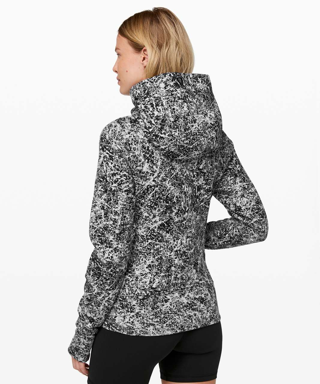 Lululemon Scuba Hoodie *Light Cotton Fleece - Paint Splash Silver Drop Multi