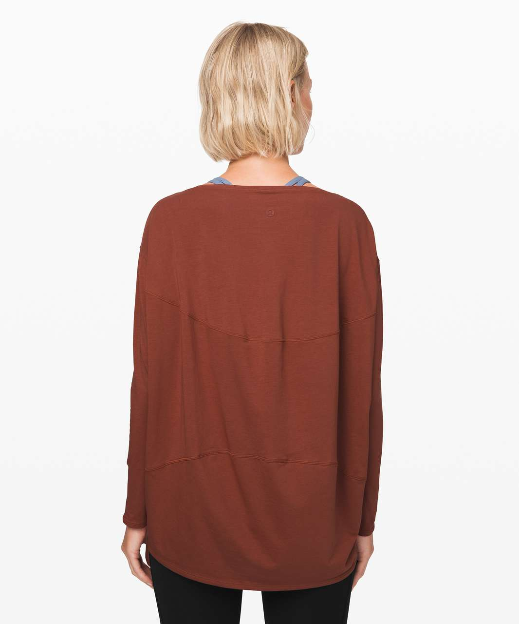 Lululemon Back In Action Long Sleeve - Rustic Clay