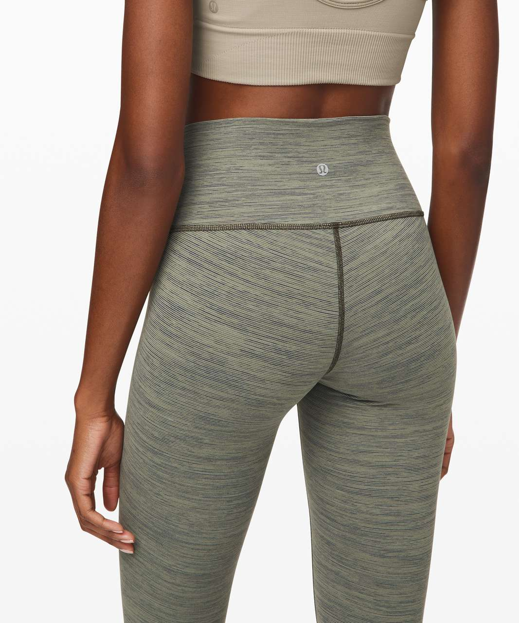 "Lululemon Wunder Under Crop (High-Rise) *Luxtreme 21"" - Wee Are From Space Sage Dark Olive"
