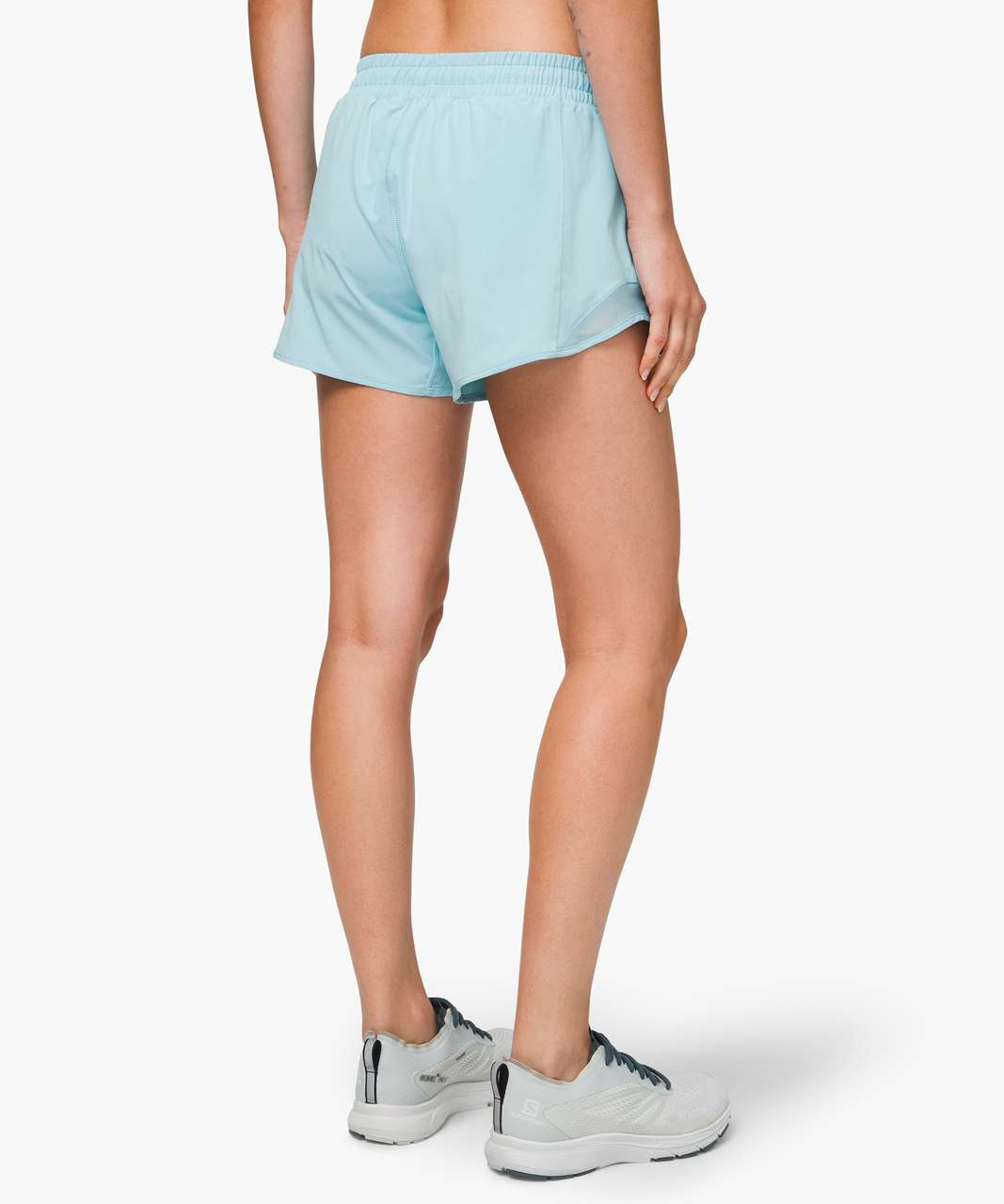 "Lululemon Hotty Hot Short II *Long 4"" - Sea Frost"