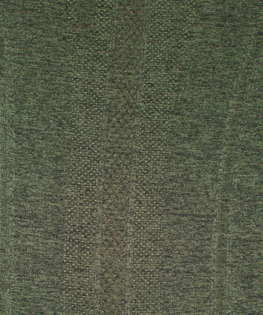 Lululemon Swiftly Tech Long Sleeve Crew - Barracks Green / Black