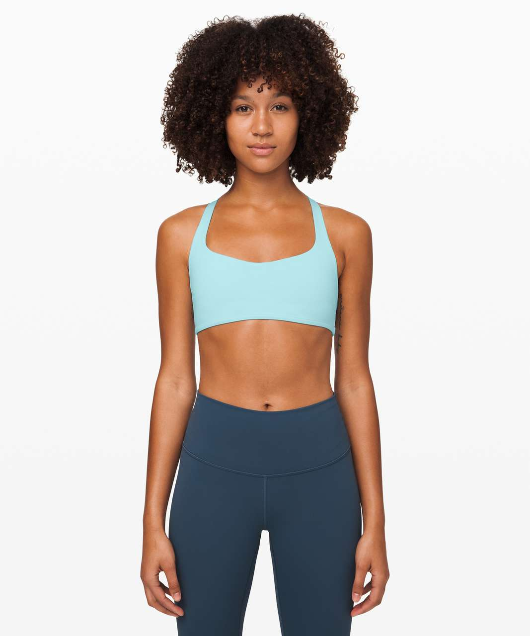 Lululemon Free To Be Bra (Wild) - Sea Frost