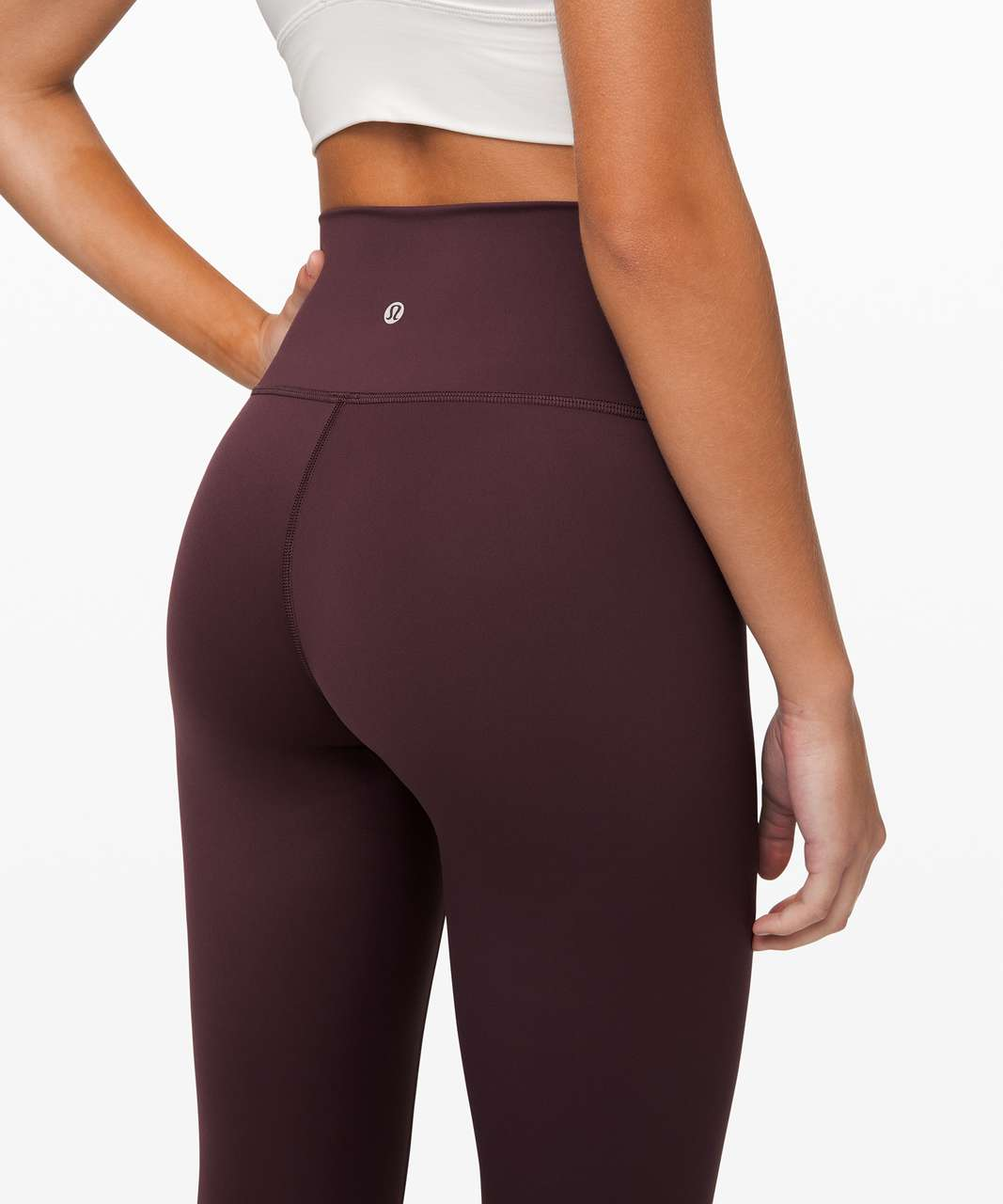 "Lululemon Wunder Under High-Rise Tight 28"" *Nulux - Arctic Plum"
