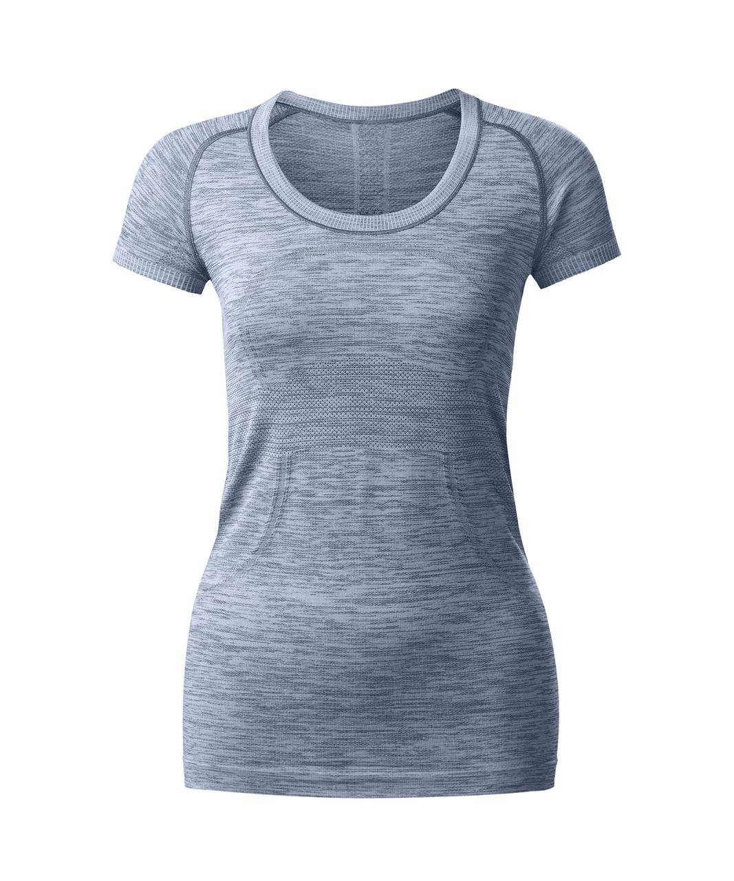 Lululemon Swiftly Tech Short Sleeve Scoop - Heathered Hero Blue