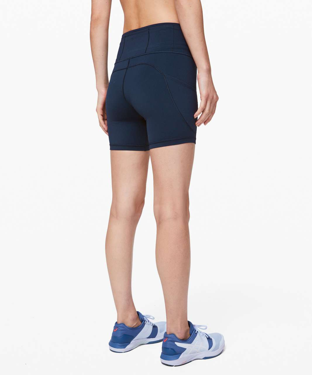 """Lululemon Fast and Free Short 6"""" *Non-Reflective - True Navy"""