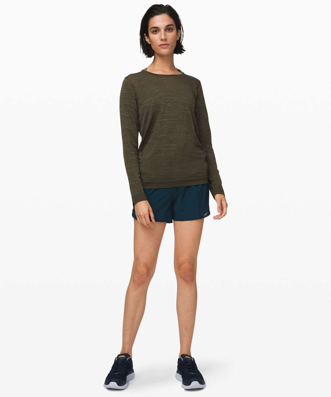 Lululemon Swiftly Relaxed Long Sleeve - Dark Olive / Fatigue Green