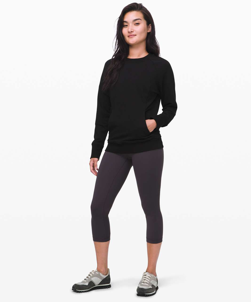 "Lululemon Wunder Under Crop Low-Rise 21"" *Full-On Luxtreme - Intergalactic"
