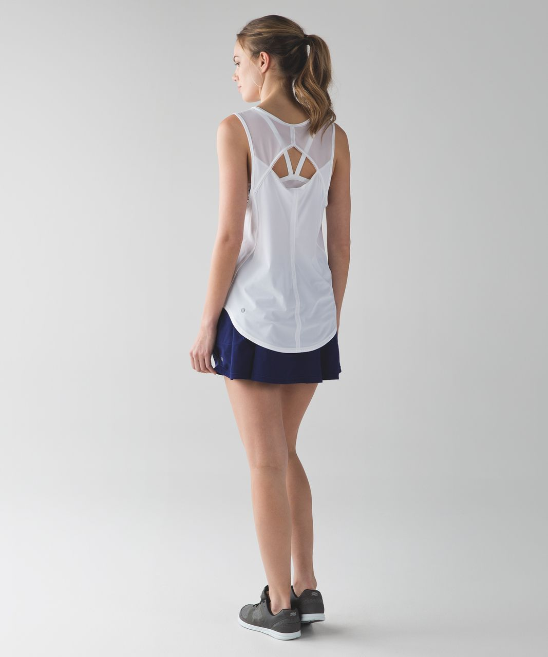 Lululemon Pace Rival Skirt II (Regular) (4-way Stretch ) - Hero Blue