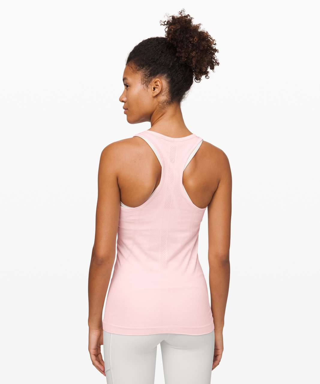 Lululemon Swiftly Tech Racerback - Powdered Rose / Powdered Rose