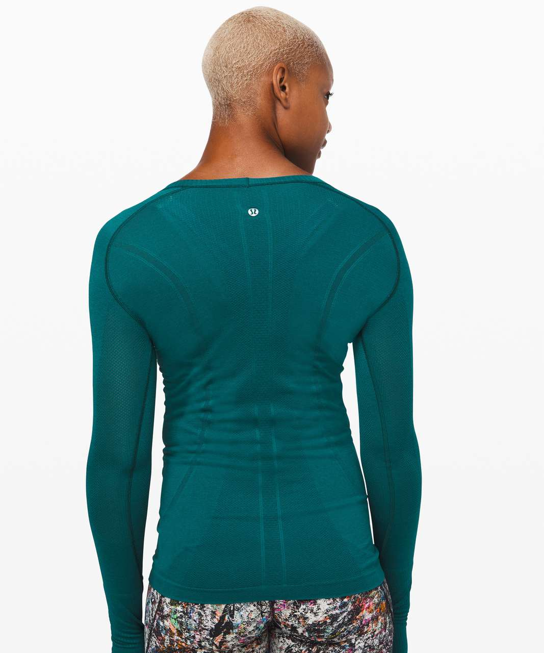 Lululemon Swiftly Tech Long Sleeve Crew - Emerald / Emerald