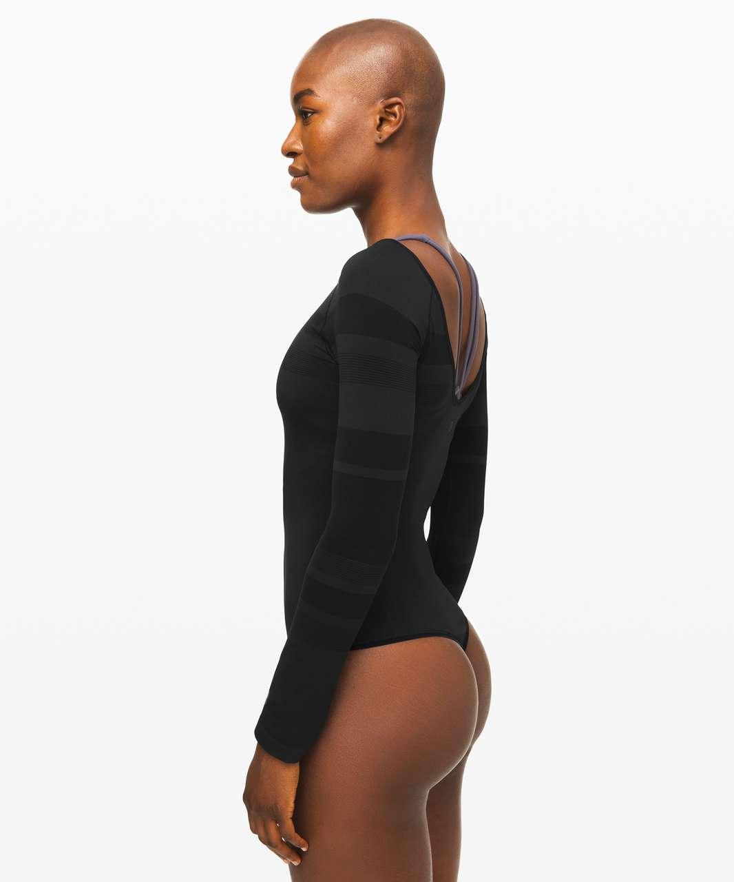 Lululemon Gleam and Glow Bodysuit - Black