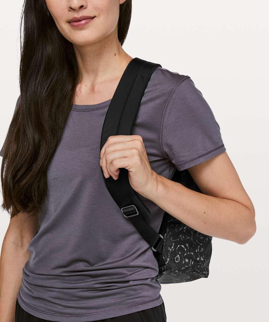 Lululemon City Adventurer Backpack *17L - Motif Grey Black / Black