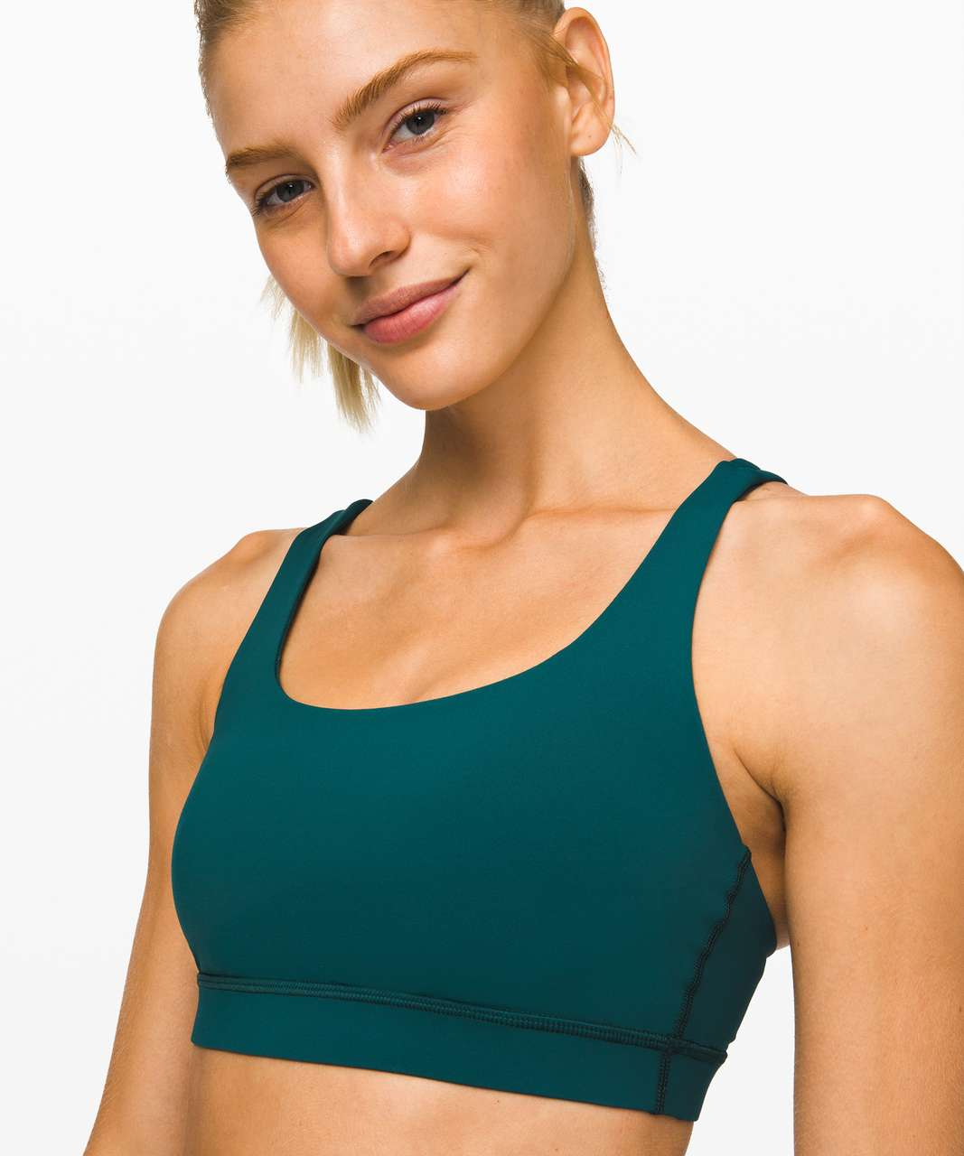 Lululemon Energy Bra - Royal Emerald