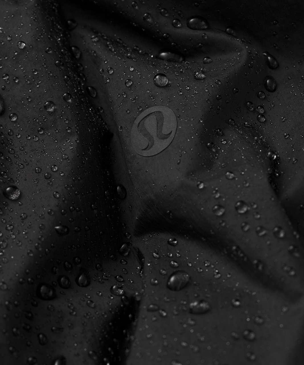 Lululemon Cloudscape Waterproof Wrap - Black / Black