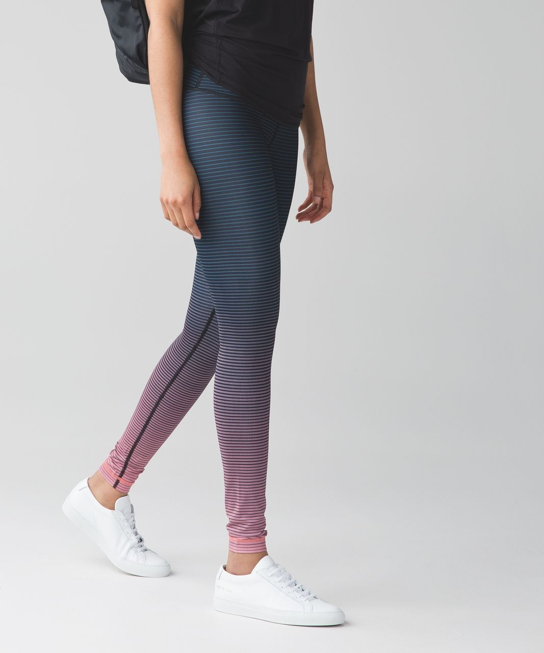 Lululemon Wunder Under Pant (Hi-Rise) (Full-On Luxtreme) - Double Gradient High Rise Yum Yum Pink Alberta Lake