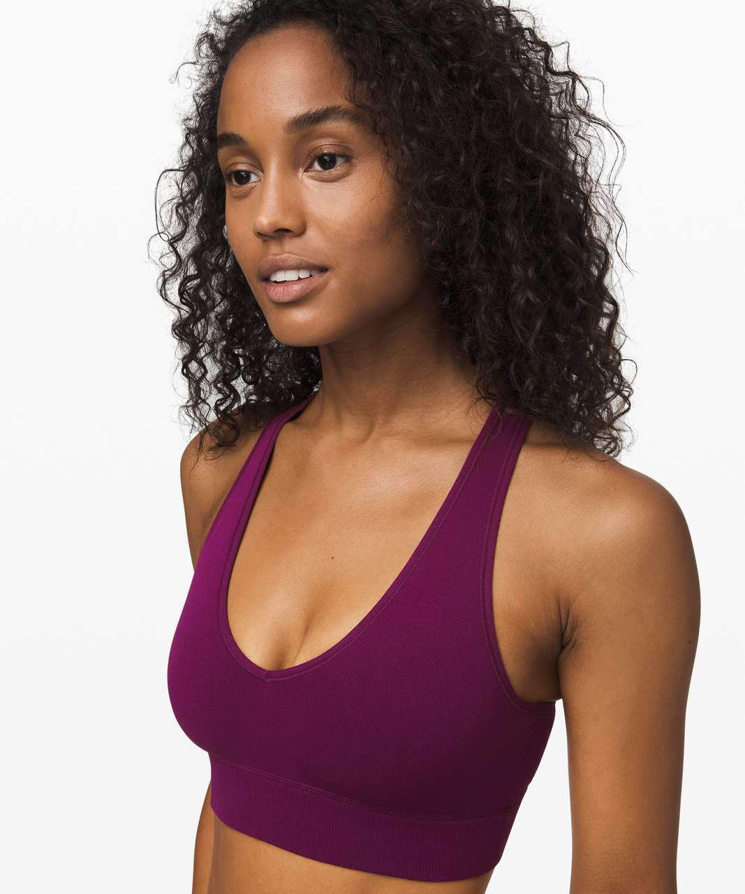 Lululemon Reveal Bra *Mesh Stripes - Marvel