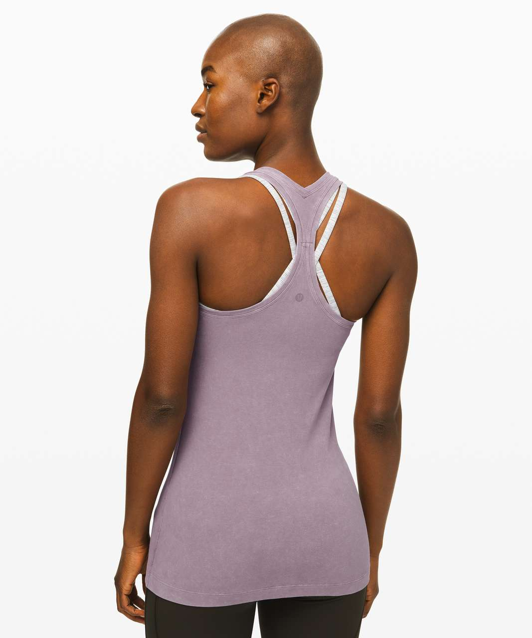 Lululemon Cool Racerback II *Dye - Washed Frosted Mulberry