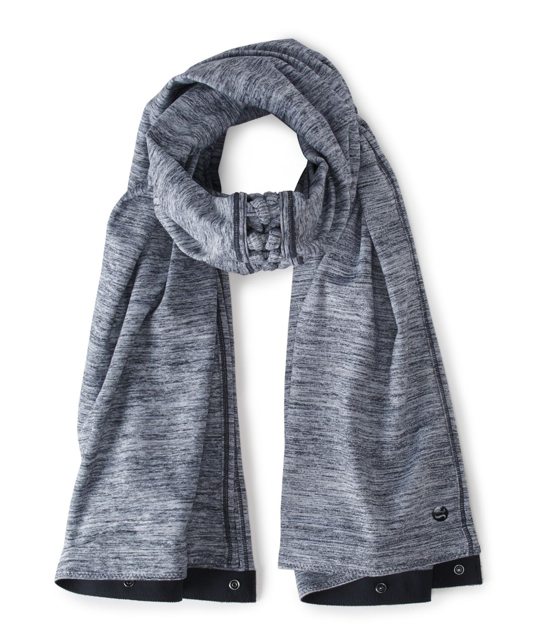 Lululemon Vinyasa Scarf (Braid) - Space Dye Camo Seal Grey Deep Coal