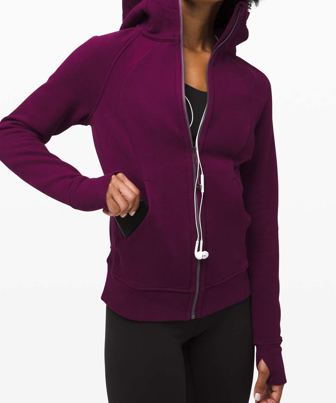 Lululemon Scuba Hoodie *Light Cotton Fleece - Marvel