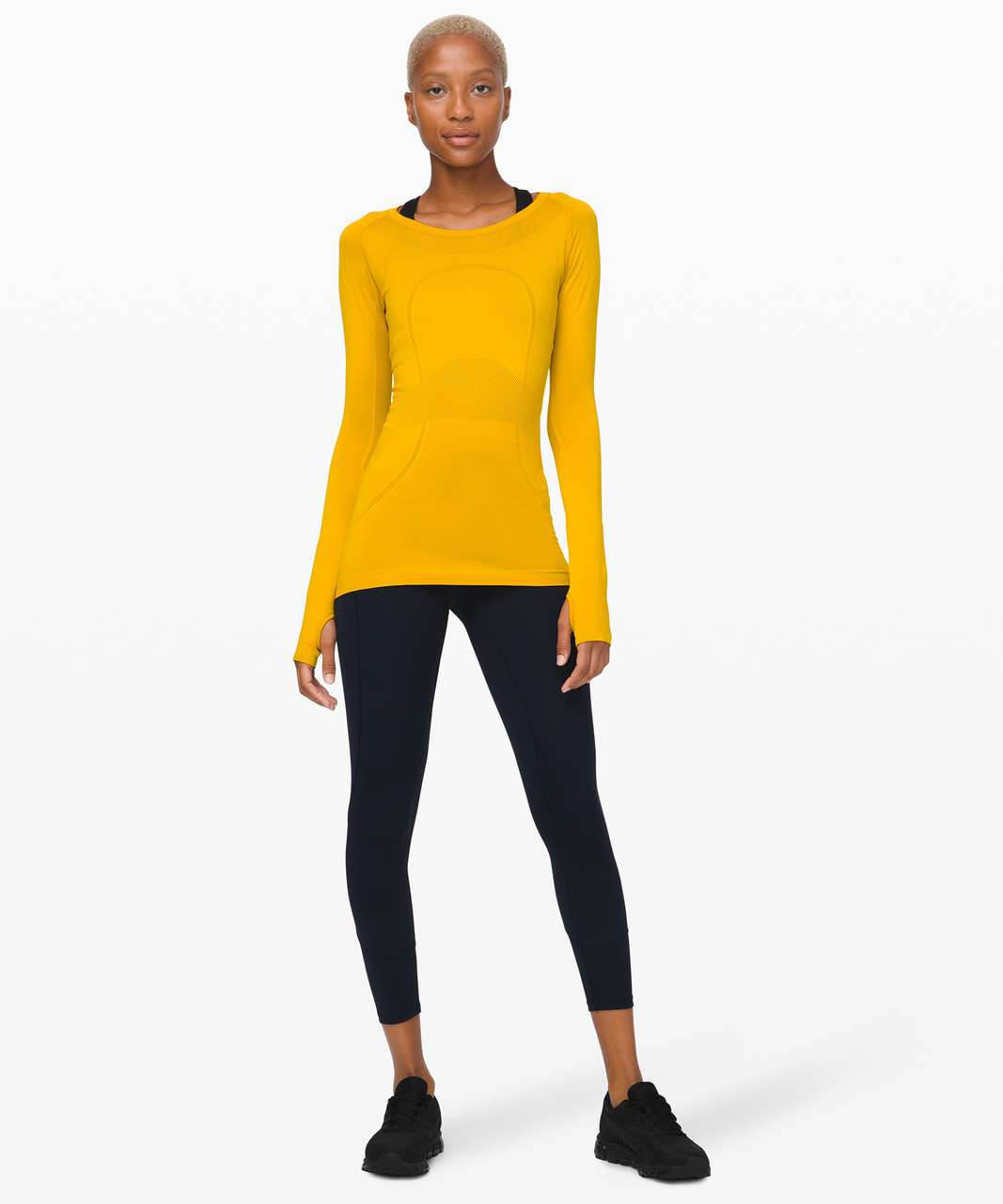 Lululemon Swiftly Tech Long Sleeve Crew - Honeycomb / Honeycomb