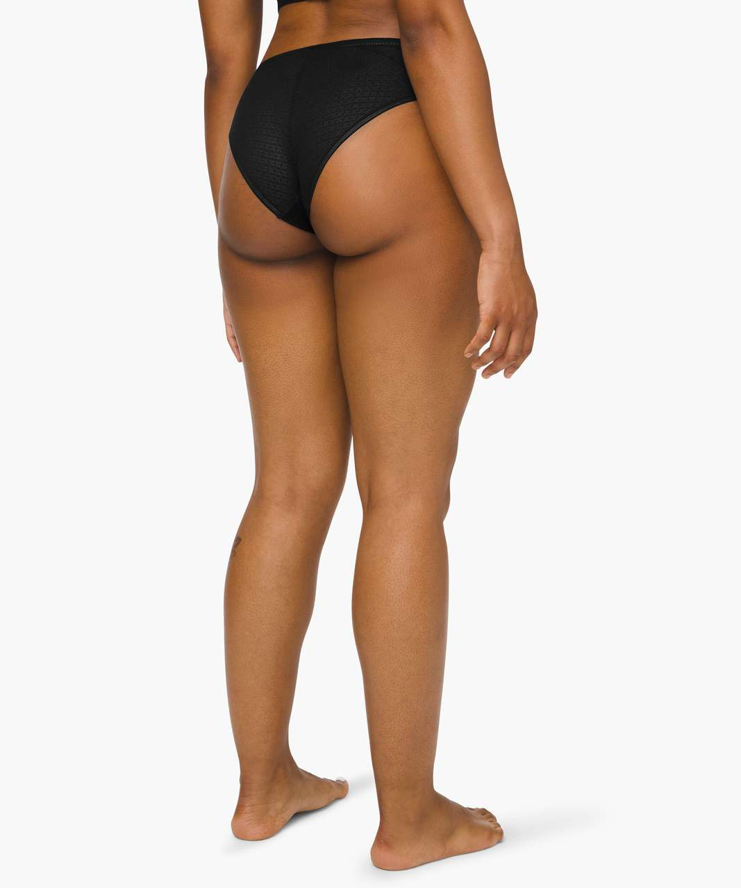 Lululemon Awake to Lace Cheeky Bikini - Black
