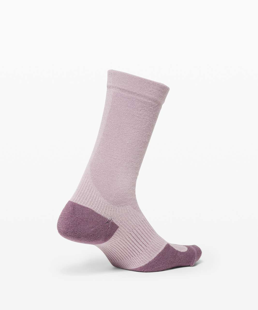 Lululemon Coast to Roam Crew Sock *Wool - Frosted Mulberry / Smoky Blush