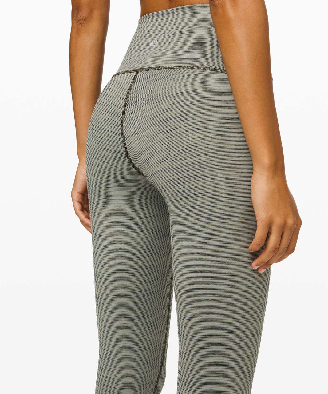 "Lululemon Wunder Under High Rise Tight 28"" *Luxtreme - Wee Are From Space Sage Dark Olive"