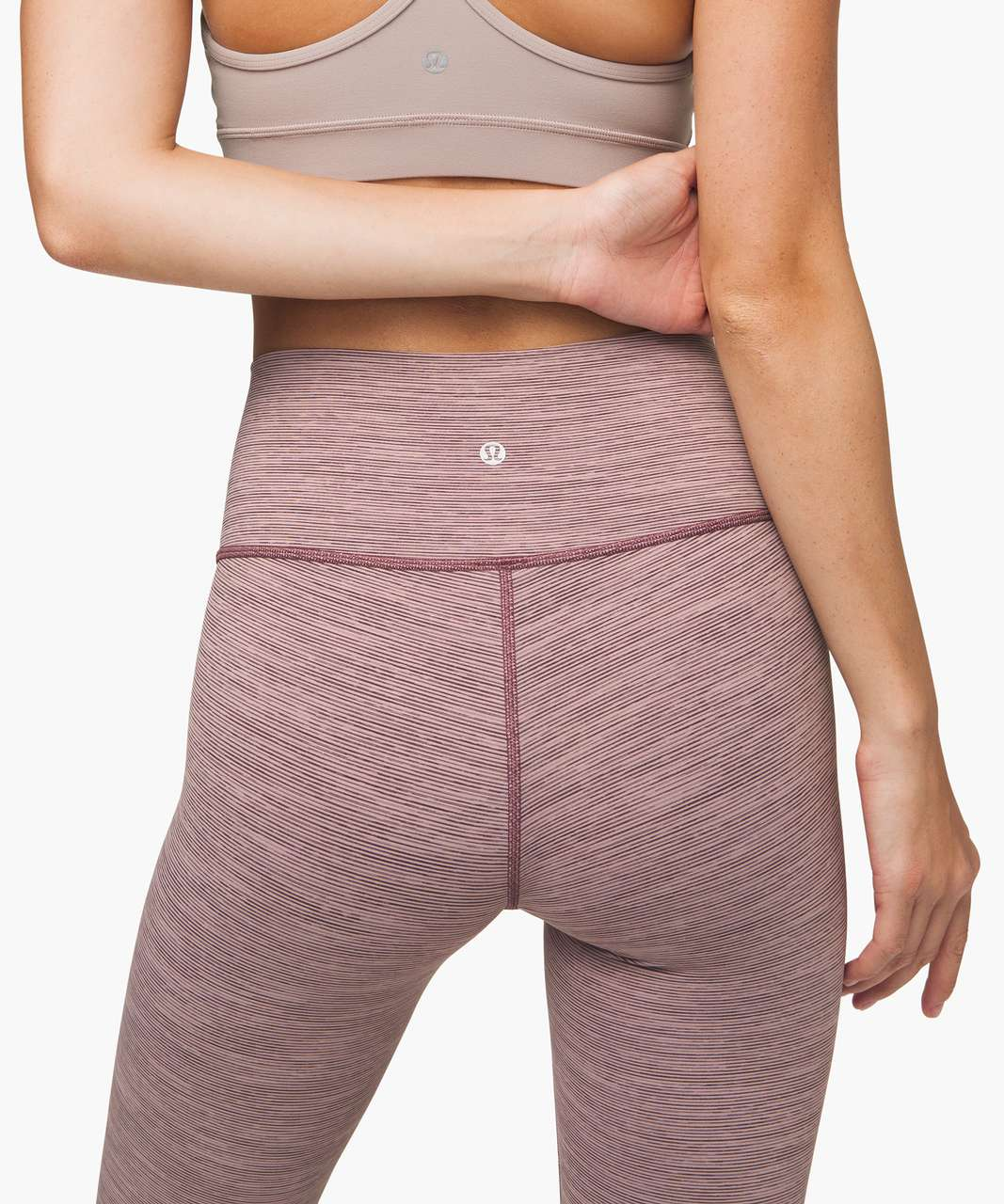 "Lululemon Wunder Under High Rise Tight 28"" *Luxtreme - Wee Are From Space Frosted Mulberry Black Currant"