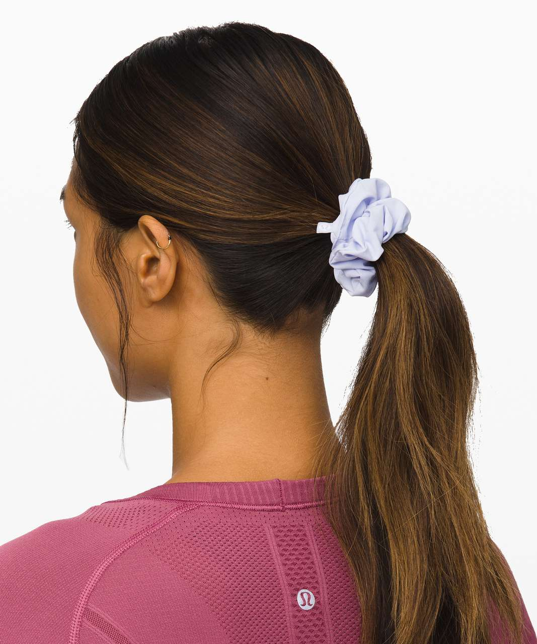 Lululemon Uplifting Scrunchie - Serene Blue