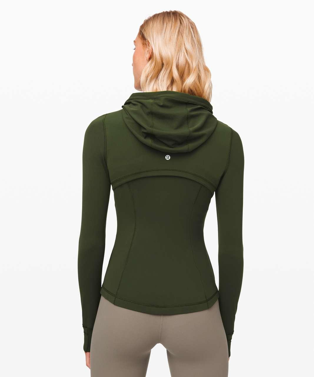 Lululemon Hooded Define Jacket *Nulu - Camo Green