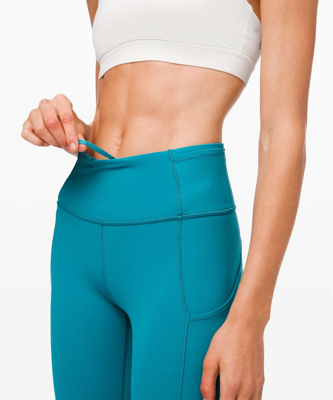 "Lululemon Fast and Free Tight II 25"" *Non-Reflective Nulux - Ice Cave"