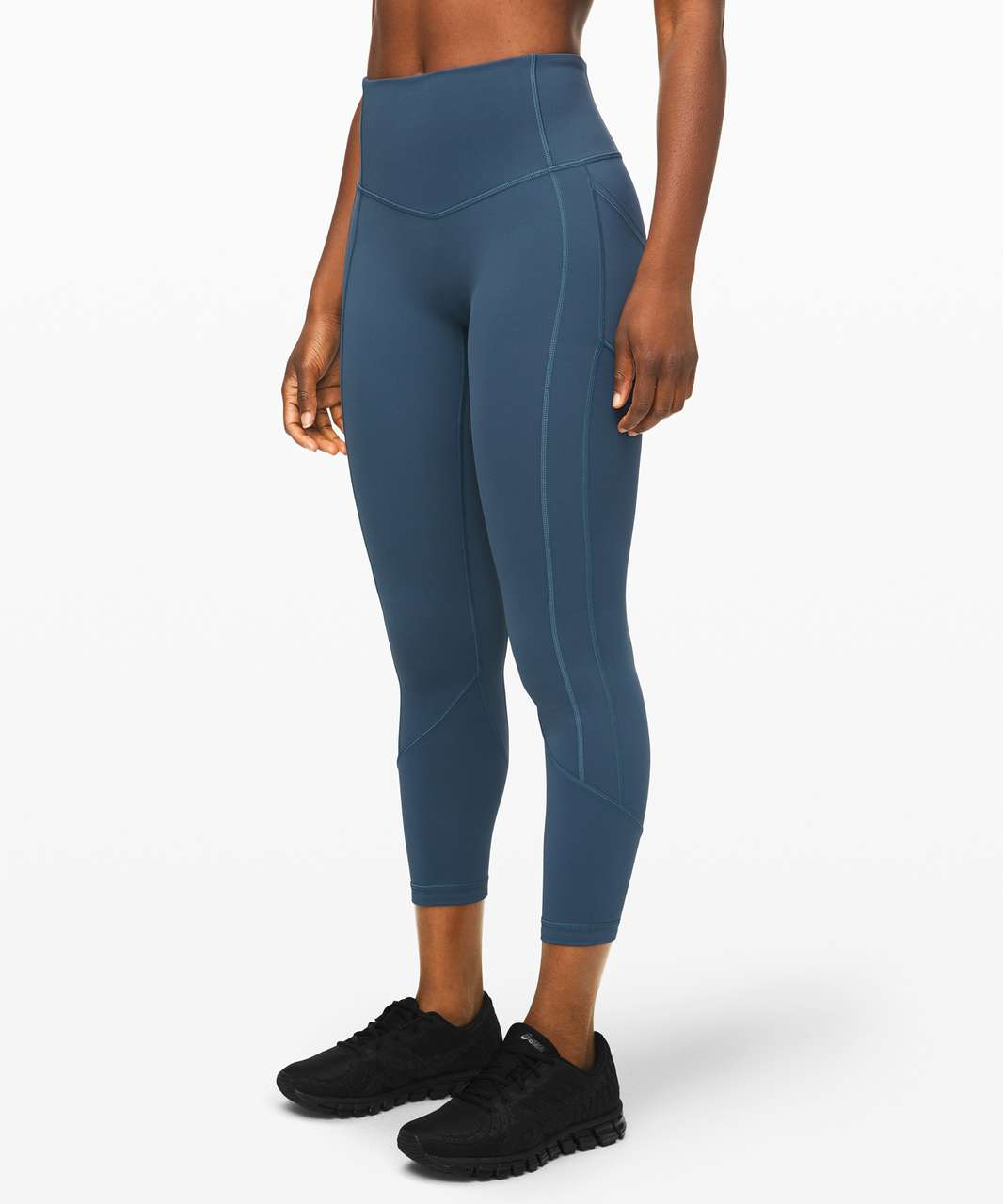 """Lululemon All The Right Places Crop II *23"""" - Code Blue"""