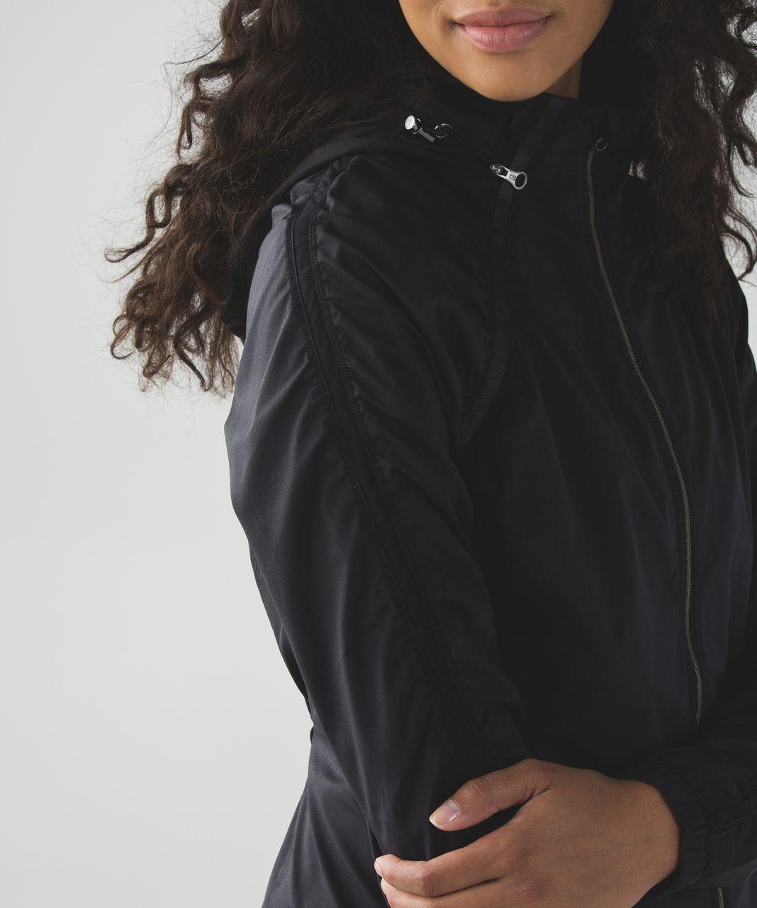Lululemon Gather And Sprint Jacket - Black