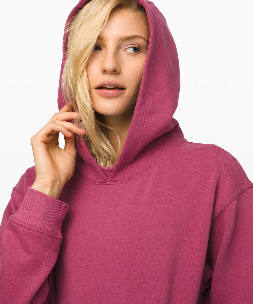 Lululemon All Yours Hoodie - Moss Rose
