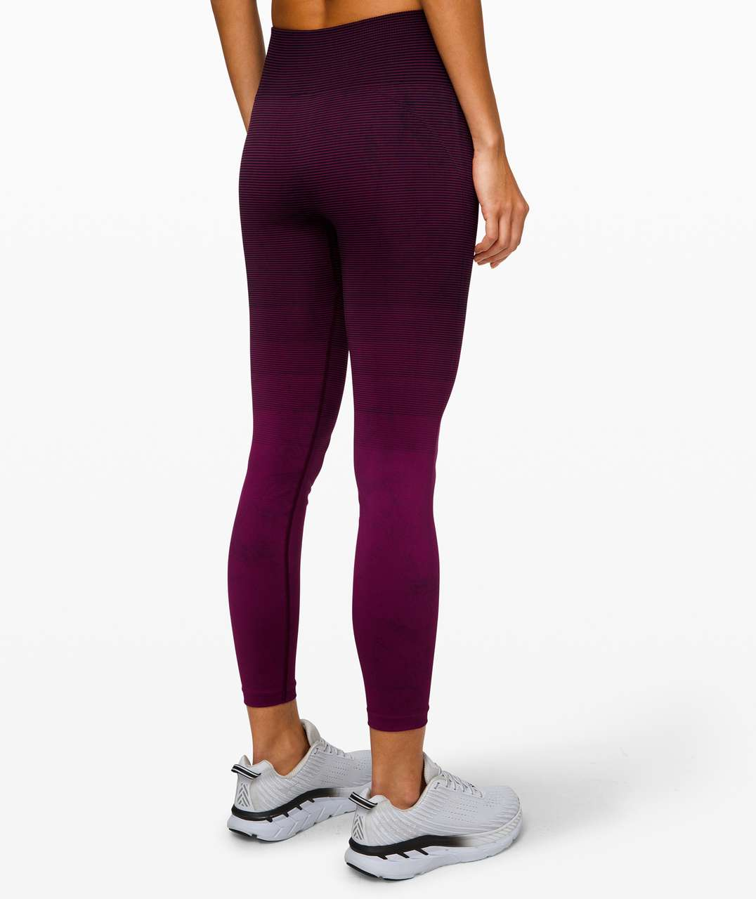 Lululemon Ebb to Train Tight *Wash - Marvel / Black / Black