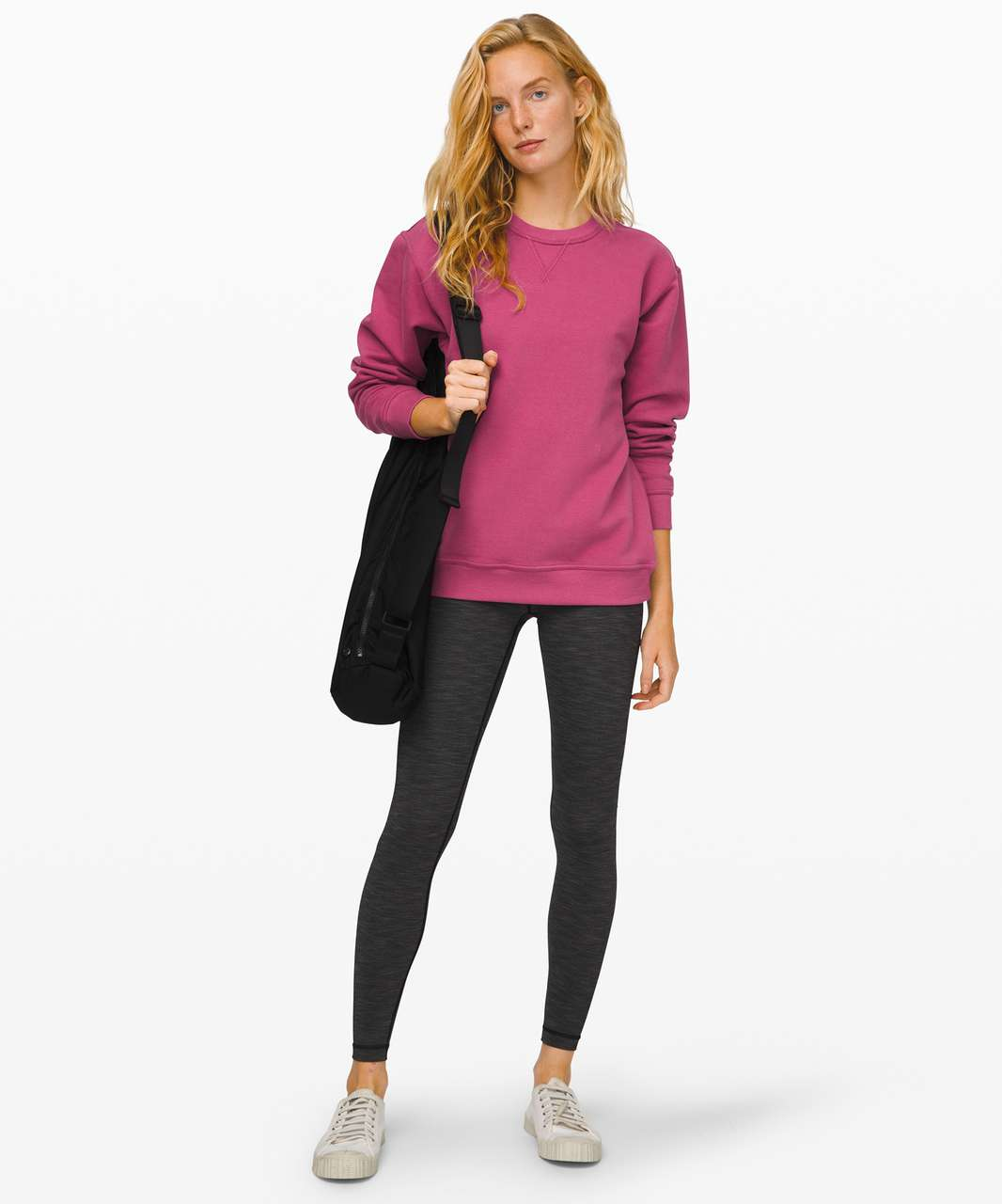 Lululemon All Yours Crew - Moss Rose