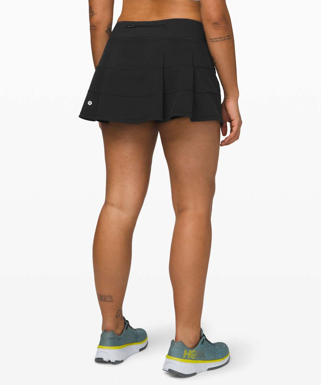 "Lululemon Pace Rival Skirt (Regular) *4-way Stretch 13"" - Black"