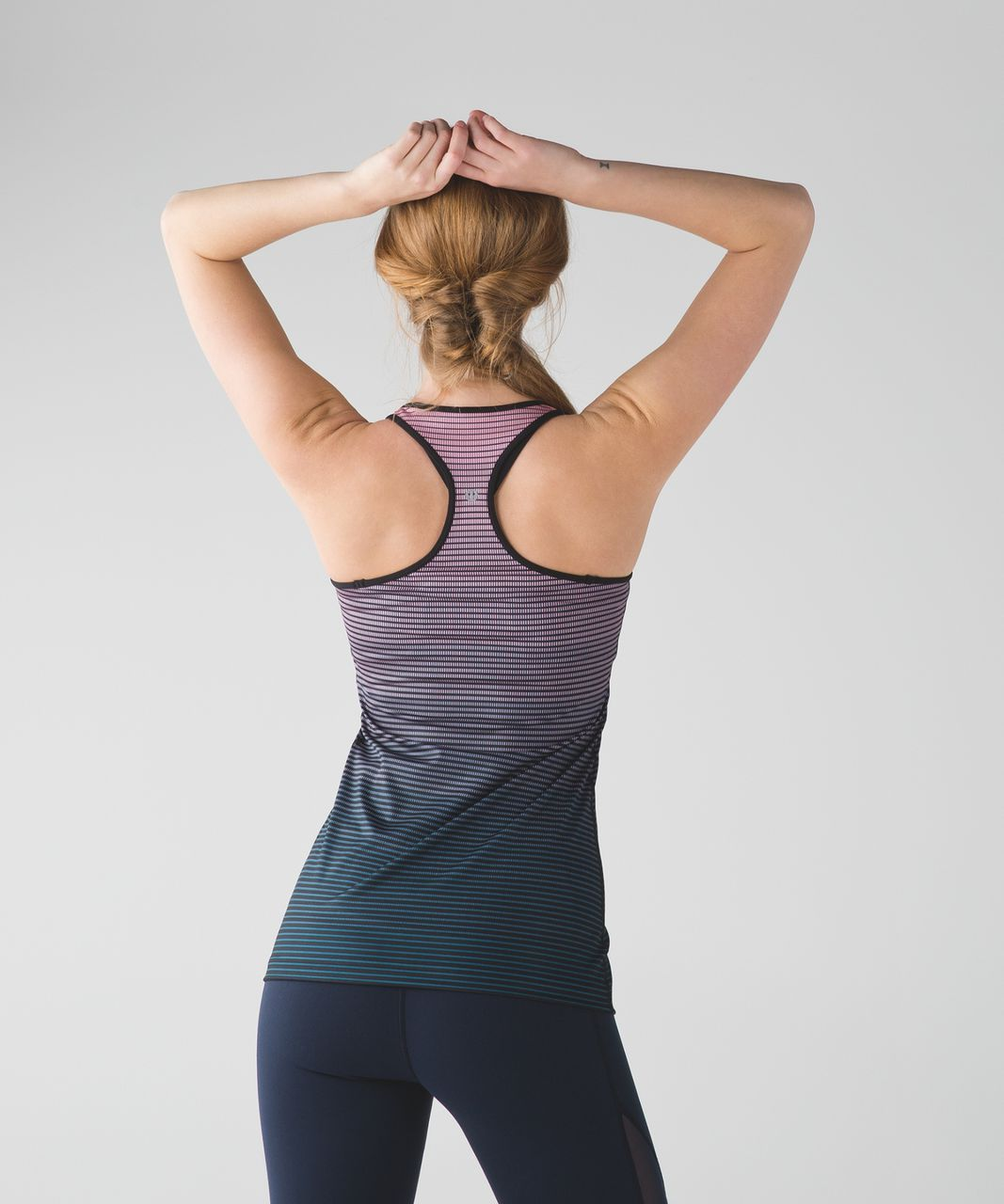 Lululemon Cool Racerback - Double Gradient Yum Yum Pink Alberta Lake