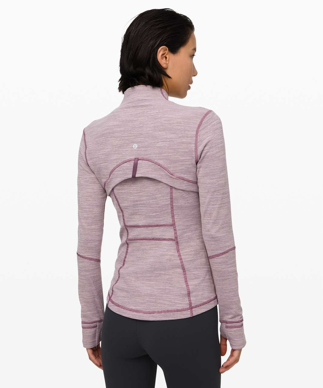 Lululemon Define Jacket - Wee Are From Space Frosted Mulberry Black Currant