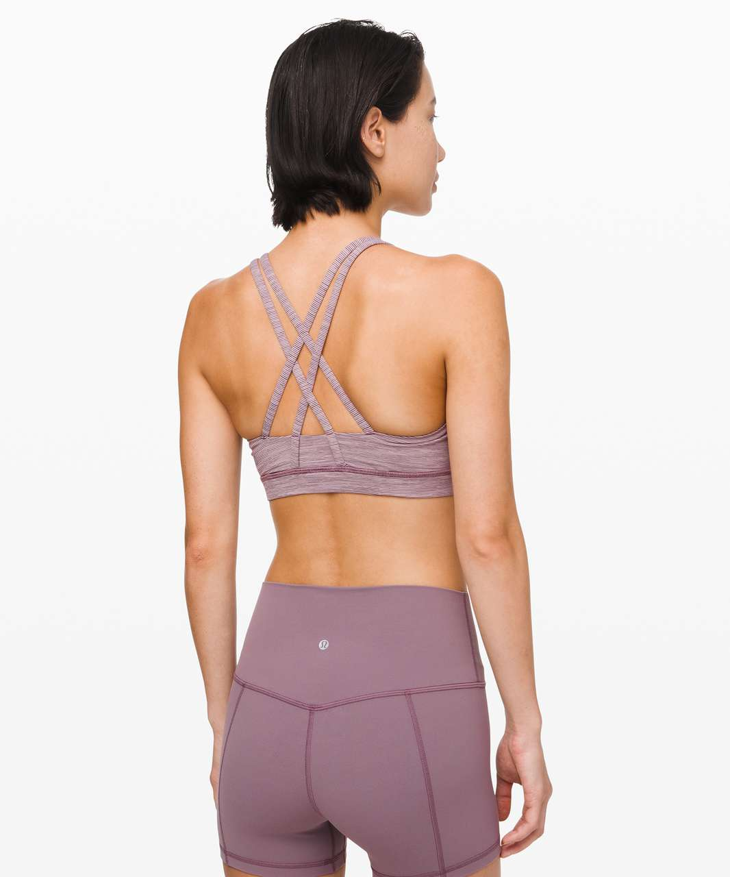Lululemon Energy Bra - Wee Are From Space Frosted Mulberry Black Currant