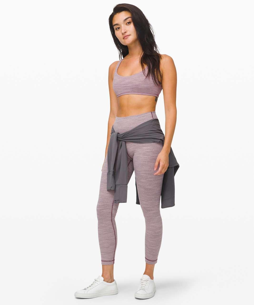 Lululemon Free To Be Bra (Wild) - Wee Are From Space Frosted Mulberry Black Currant