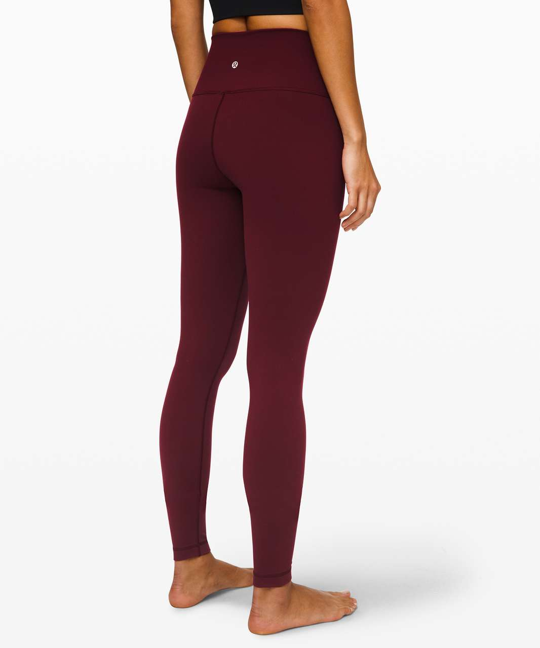 "Lululemon Wunder Under High-Rise Tight 31"" *Full-On Luxtreme - Garnet"